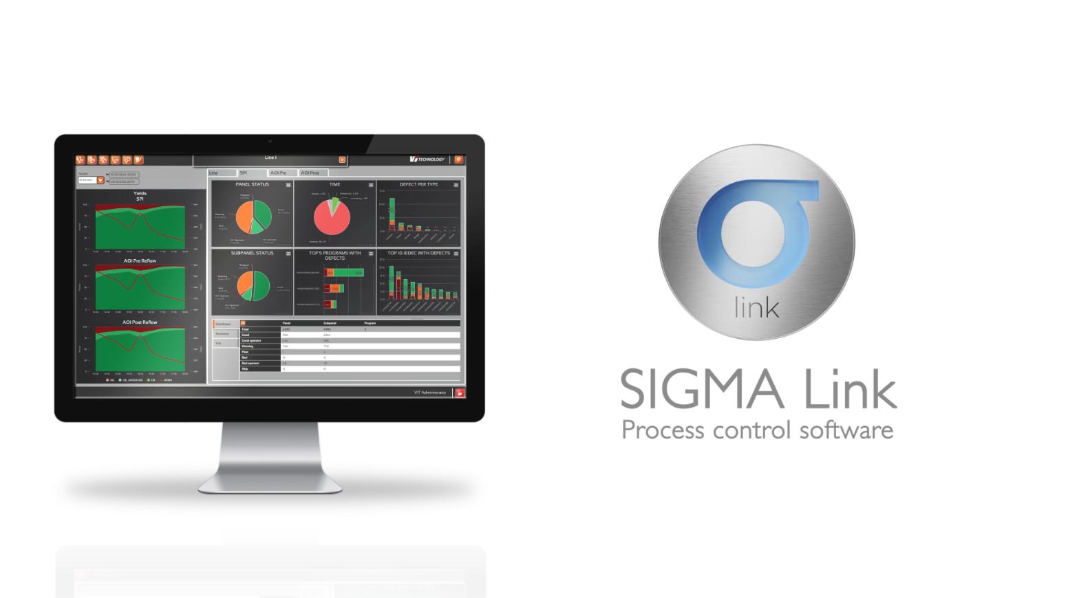 MATAS ELECTRONICS parle du logiciel de contrôle de processus SIGMA LINK de Vi TECHNOLOGY